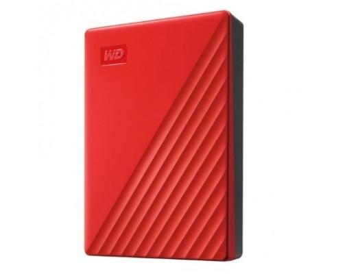 WD My Passport WDBYVG0020BRD-WESN 2TB 2,5 USB 3.0 red