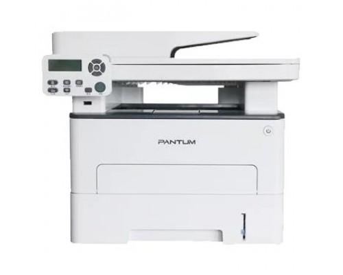 M7100DN МФУ лазерное, монохромное, двусторонняя печать, автоподача, копир/принтер/сканер (цвет 24 бит), 33 стр/мин, 1200 x 1200 dpi, 256Мб RAM, лоток 250 стр, USB, RJ45, серый корпус