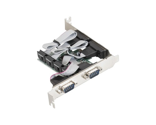 Exegate EX283705RUS Контроллер EXE-310 PCI-E, 4*COM port (OEM)