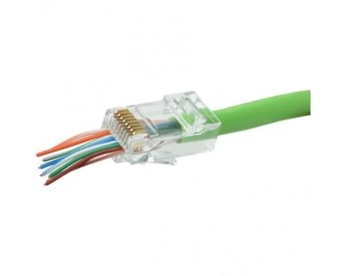 ITK CS3-1C5EU-FPS Разъём RJ-45 UTP для кабеля кат.5E FPS