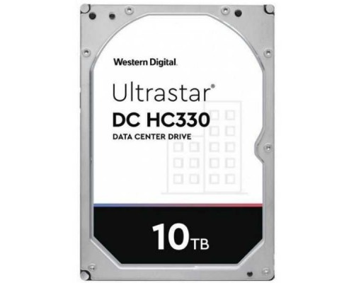 10Tb WD Ultrastar DC HC330 SAS 12Gb/s, 7200 rpm, 256mb buffer, 3.5 0B42258
