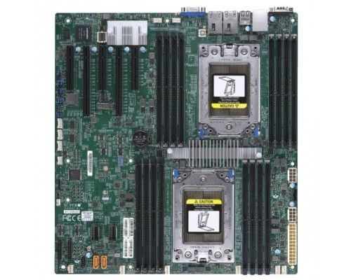 Supermicro MBD-H11DSI-NT-B board,support for 2xAMD EPYC 7000 Series Processors,up to 16xRegistered ECC DDR4 2666MHz SDRAM DIMMs, 2xPCI E 3.0x16 and 3xPCI E 3.0 x8 Exp. OEM