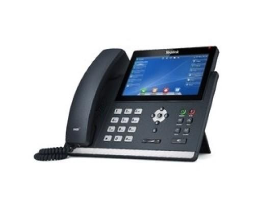 YEALINK SIP-T48U цветной сенсорный экран, 16 аккаунтов, BLF, PoE, GigE, без БП