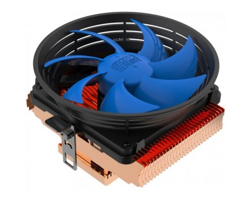 PCCooler Q100M V2 Кулер S775/115X/AM2/AM3/AM4/FM1/FM2 (60 шт/кор, TDP 75W, вент-р 100мм с PWM, 1200-2000RPM, 16-20dBa) Retail Color Box