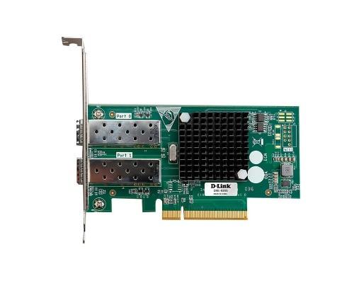 D-Link DXE-820S/A1A Сетевой PCI Express адаптер с 2 портами 10GBase-X SFP+