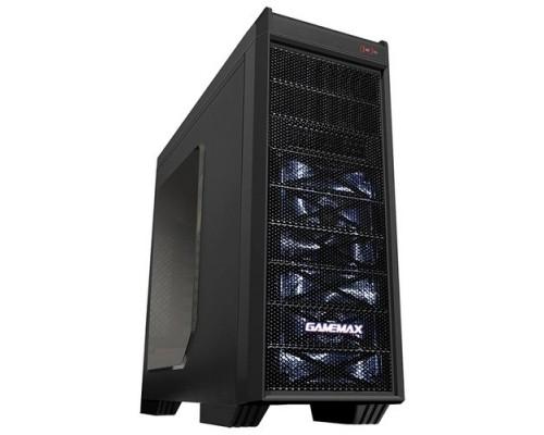 GameMax G501X White Led Luxury MFG G501X (Midi Tower, ATX,Черн.,Окно, USB3.0, внеш. SATA отсек (без БП)