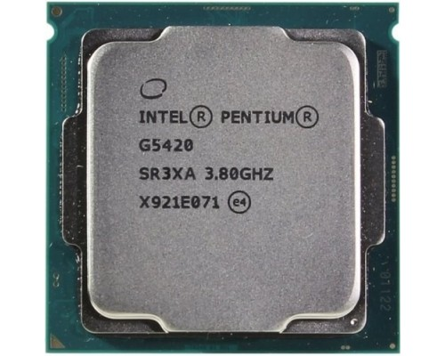 CPU Intel Pentium Gold G5420 Coffee Lake BOX 3.8ГГц, 4МБ, Socket1151v2