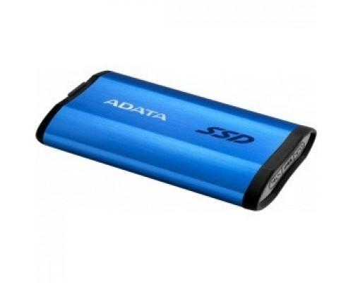 ADATA 512GB SE800 Portable SSD USB 3.2 Gen2 Type-C BlueASE800-512GU32G2-CBL