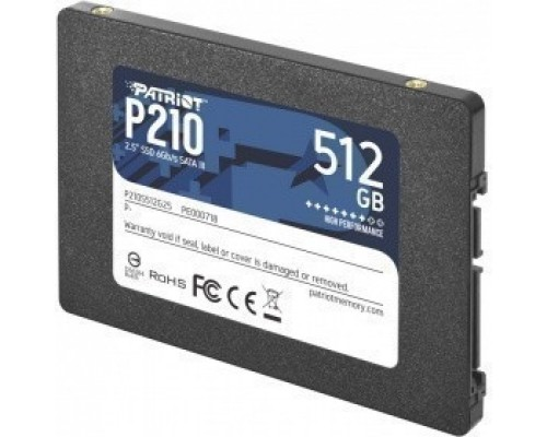 Patriot SSD 512Gb P210 P210S512G25 SATA 3.0