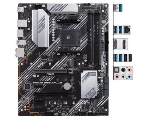 Asus PRIME B550-PLUS Soc-AM4 AMD B550 4xDDR4 ATX AC`97 8ch(7.1) GbLAN RAID+HDMI+DP
