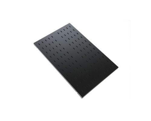 ЦМО Полка перфорированная грузоподъёмностью 100 кг., глубина 450 мм, цвет черный (СВ-45У-9005)