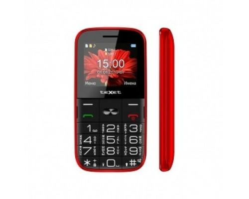 TEXET TM-B227 цвет красный