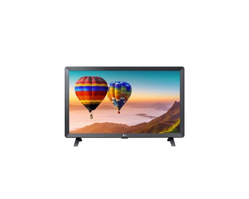 LG 24 24TN520S-PZ черный-серый/HD READY/50Hz/DVB-T2/DVB-C/DVB-S/DVB-S2/USB/WiFi/Smart TV (RUS)