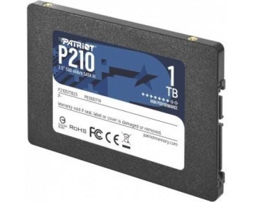 SSD Patriot 1Tb P210S1TB25 P210 2.5 SATA3