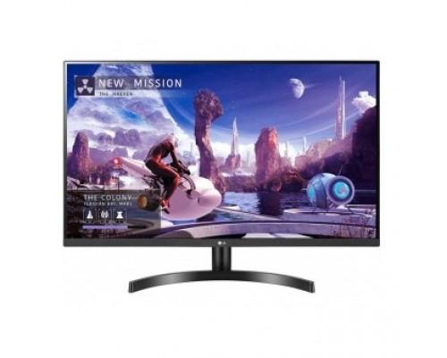 LCD LG 31.5 32QN600-B черный IPS 2560х1440 75Hz 5ms 350cd 178/178 1000:1 HDR10 5ms 10bit(8bit+FRC) 2xHDMI1.4 DisplayPort1.4 FreeSync VESA