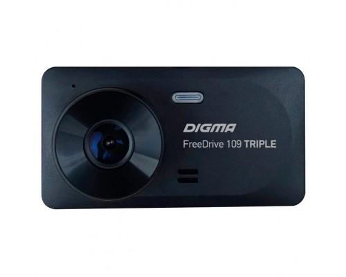 Видеорегистратор Digma FreeDrive 109 TRIPLE черный 1Mpix 1080x1920 1080p 150гр. JL5601 1117489
