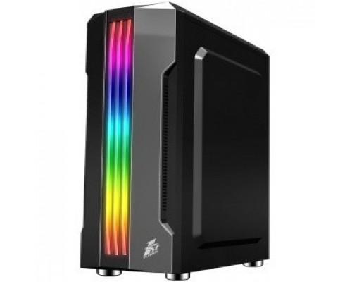 1STPLAYER R3-A-1R1 RAINBOW R3-A / ATX, tempered glass side panel / 1x 120mm LED fan inc. / R3-A-1R1