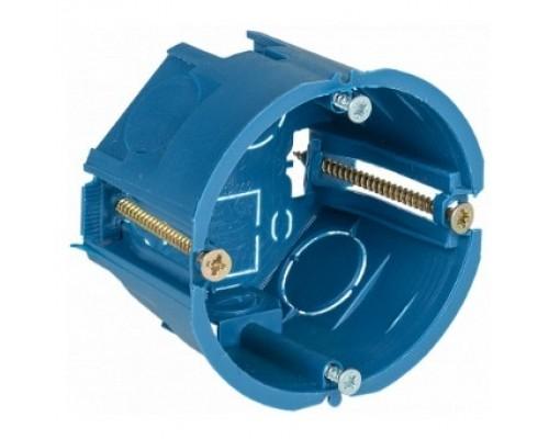 Iek UKG10-068-045-000-P-UO Коробка установочная С3 D=68x45 мм для полых стен (с саморезами и пластиковыми лапками)