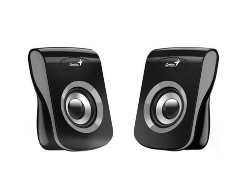 GENIUS SP-Q180, 2.0, 2 x 3W RMS, USB-power, Iron Grey