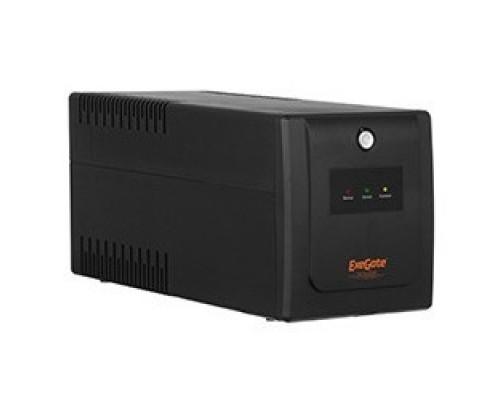 Exegate EP285481RUS ExeGate SpecialPro UNB-1000.LED.AVR.C13.RJ <1000VA/650W, LED, AVR, 6*IEC-C13, RJ45/11, Black>