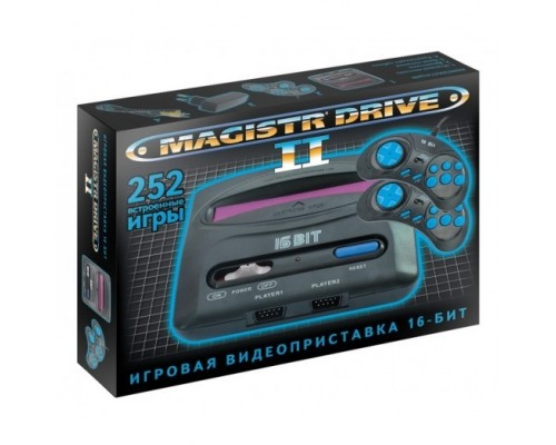 SEGA Magistr Drive 2 Little (252 игры) ConSkDn99 16 bit SMDL-252