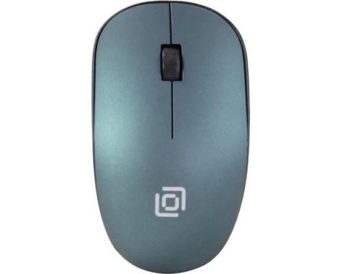 Oklick 515MW черный/зеленый оптическая (1200dpi) беспроводная USB (2but) 1018269