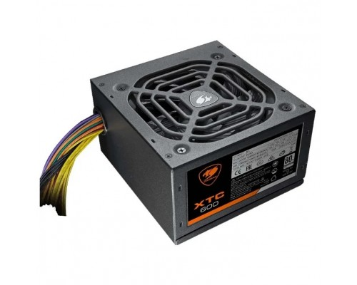 Cougar XTC 600 Cougar XTC 600 (Разъем PCIe-2шт,ATX v2.31, 600W, Active PFC, 120mm Fan, Power cord, 80 Plus, Japanese standby capacitors) XTC600 BULK