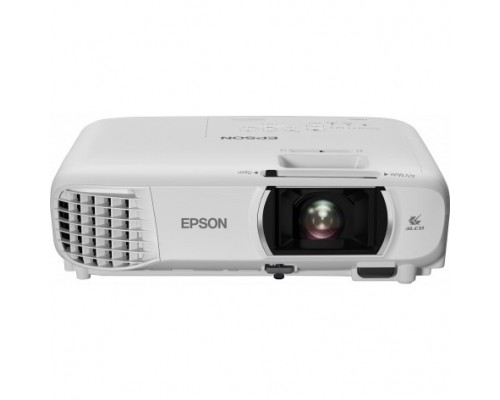 Epson EH-TW750 V11H980040 white (LCD, 1920x1080, 3400Lm, 16000:1, Wi-fi Miracast, 2.8 kg), 3D