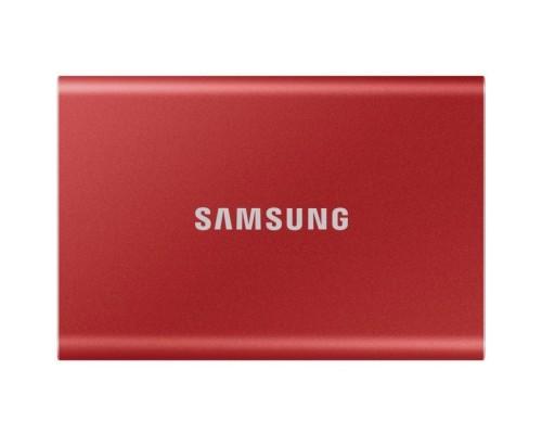 Накопитель SSD Samsung USB Type-C 500Gb MU-PC500R/WW T7 1.8