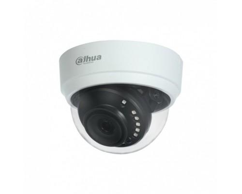 EZ-IP EZ-HAC-D1A21P-0280B Видеокамера HDCVI купольная, 1/2.7 2Мп КМОП ,2.8мм фиксированный объектив, 4в1(CVI/TVI/AHD/CVBS)