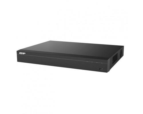 EZ-IP EZ-NVR1B04HS/H Видеорегистратор IP 4-х канальный 1080Р; Входящий поток на запись: до 80Мбит/с; H.265+/H.264+/H.265/H.264; HDD: 1 SATA2 до 8Тб; 1 HDMI, 1 VGA; 1 порт 100Mb; USB: 2порта 2.0