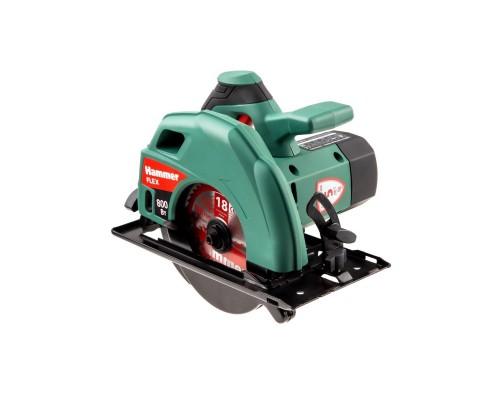 HammerFlex CRP800D циркулярная 599628 800Вт 4000об/мин 140х16мм макс.пропил 45мм