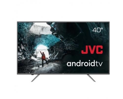 JVC LT-40М690 черный 40 (102см) - Google Android TV, Android 9, FullHD, 1920x1080, Bluetooth, DVB-C, DVB-T, DVB-T2, Слот CI/CI+