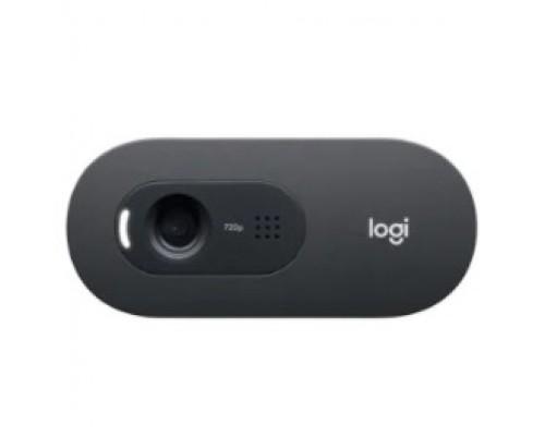 960-001364 Logitech HD WebCam C505 Black USB 2.0, 1280*720, 1Mpix foto, Mic, Black