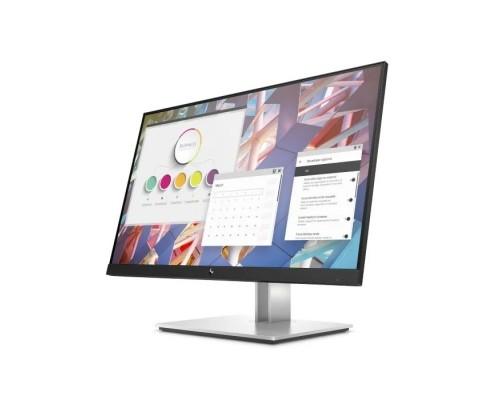 LCD HP 23.8 E24 G4 серебристый/черный IPS 1920x1080 5ms 16:9 250cd 178/178 D-Sub HDMI DisplayPort USB 9VF99AA#ABB