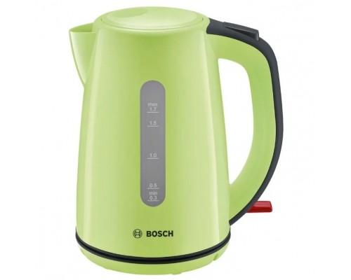 электрический Bosch TWK7506 1.7л. 2200Вт зеленый/черный (корпус: пластик)