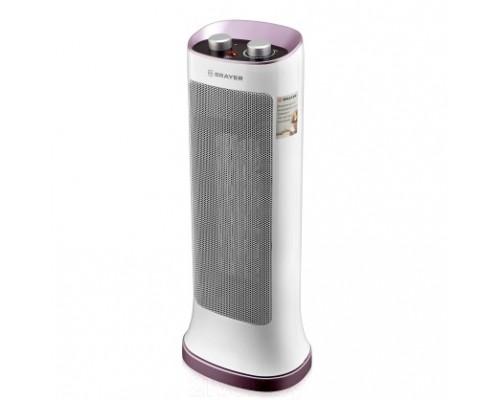 BRAYER 4800BR Тепловентилятор,2000 Вт, 3 реж.работ, регул. Термост, реж.вентилят, площ 20 кв.м