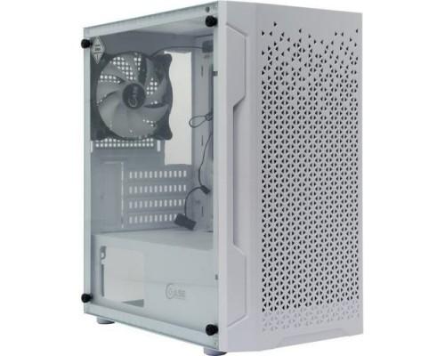 Powercase CMIMZW-L3 Mistral Micro Z3W Mesh LED, Tempered Glass, 2x 140mm + 1х 120mm 5-color fan, белый, mATX (CMIMZW-L3)