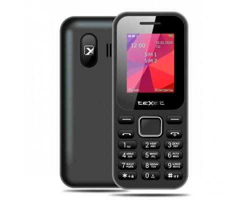 TEXET TM-122 мобильный телефон цвет черный