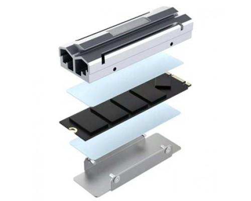 Raspberry 45145 Устр-во охл. Радиатор для SSD NGFF 2280 алюм, Модель ESP-R6