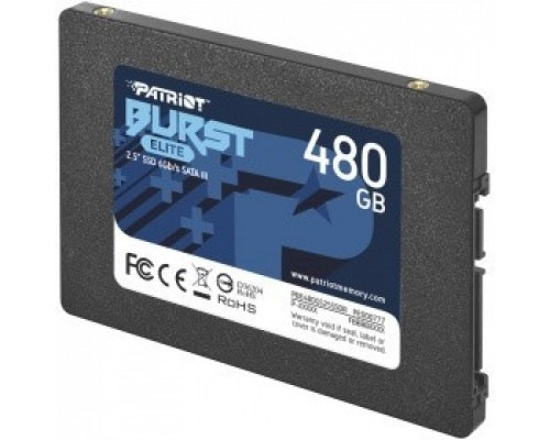 Patriot SSD 480Gb Burst Elite PBE480GS25SSDR SATA 3.0