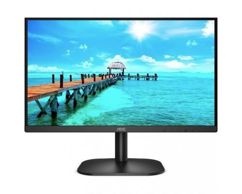 LCD AOC 23.8 24B2XDAM черный VA 1920x1080 75Hz 4ms 178/178 250cd 3000:1 8bit(6bit+FRC) D-Sub DVI HDMI1.4 AdaptiveSync AudioOut 2x2W VESA