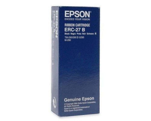 Риббон-картридж Epson ERC27B, for TM-U295, black