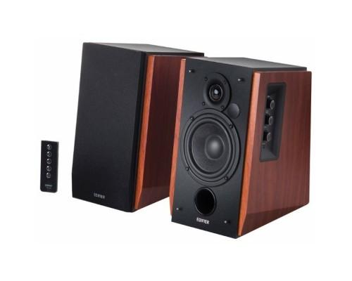 Edifier R1700BTs Brown Активные, 2 x 33W RMS, 30-20000Гц, дерево, пульт ДУ, Bluetooth