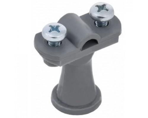 IEK ZDP80-60-1-68-038 Дер. пров. кругл. 6-10мм h=38 мм пластик серый