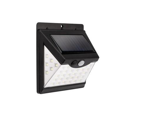 Rexant 602-236 Светильник ПРОЖЕКТОР NEW AGE 3 РЕЖИМА РАБОТЫ на солнечной батарее, датчик движения плюс датчик освещенности, кнопка вкл/выкл герметичная фасадная, LED COB монта