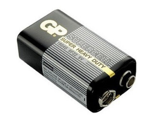 GP Supercell 1604S 6F22 9V (1шт. уп)