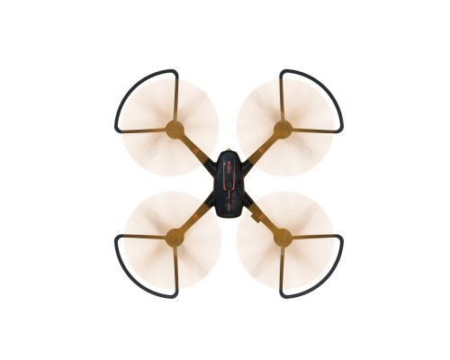 Hiper HQC-0001 SHADOW FPV 1Mpix 720p WiFi ПДУ черный/оранжевый Квадрокоптер