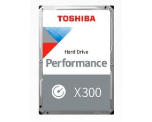 8TB Toshiba X300 (HDWR480UZSVA) SATA 6.0Gb/s, 7200 rpm, 256Mb buffer, 3.5