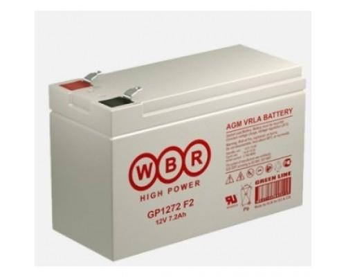 WBR Батарея GP1272 (28W) (12V/7Ah)
